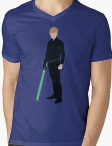 Luke Skywalker 1 Mens V-Neck T-Shirt