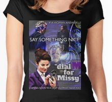 Dial 'M' for Missy Women's Fitted Scoop T-Shirt