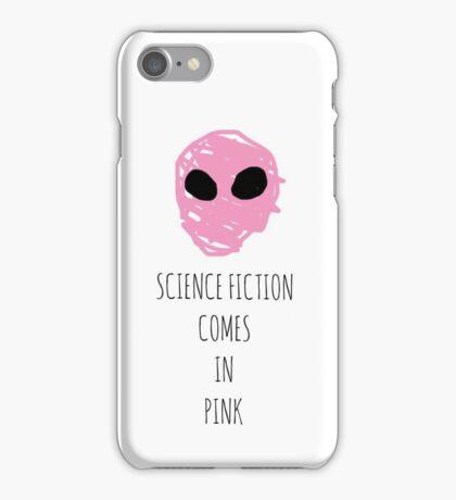 Pink Aliens  iPhone Case/Skin