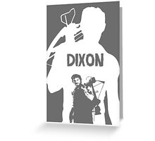 Walking Dead - Daryl Dixon -white Greeting Card
