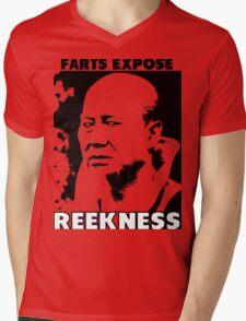 Farts Expose Reekness Mens V-Neck T-Shirt