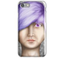 Realistic face iPhone Case/Skin