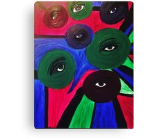 Eye See Your Colors Canvas Print