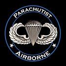 Airborne Parachutist by jcmeyer