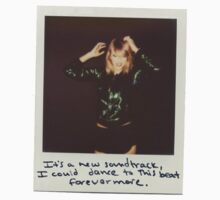 Taylor Swift 1989 Polaroid One Piece - Short Sleeve