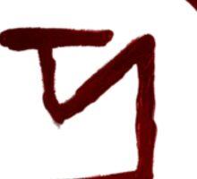 supernatural banishing sigil Sticker