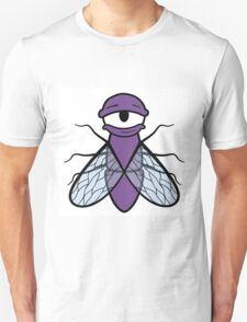 Lazy Purple Fly T-Shirt