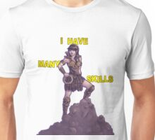 She Has Many Skills Unisex T-Shirt