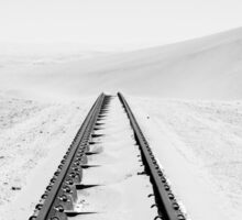 Travelling Dunes | Crossing the Rail-Tracks Sticker