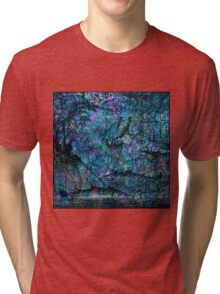 "Alchemical Secrets - ""Across The Sea Of The Wise"" Tri-blend T-Shirt"
