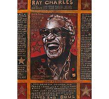 Ray Charles Photographic Print