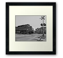 Big Locomotive Framed Print