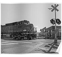 Big Locomotive Poster