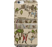 Part 2 of Outlandish Panels (Gabeaux Tapestry) iPhone Case/Skin