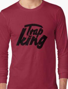 Trap king - version 1 - Black Long Sleeve T-Shirt