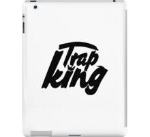 Trap king - version 1 - Black iPad Case/Skin