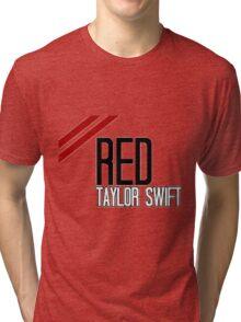 RED Taylor Swift Tri-blend T-Shirt