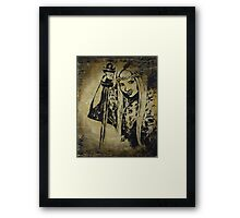 The Viking Girl Framed Print