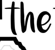 texas theta Sticker