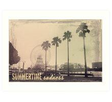 Vintage Summer Art Print