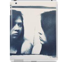 Cyanotype and Mirror  iPad Case/Skin
