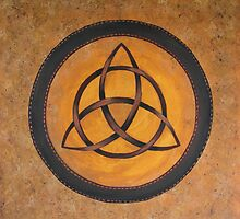Celtic Shield of Protection by aussiebushstick