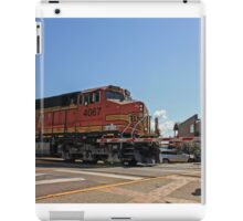 Railroad Crossing BNSF iPad Case/Skin