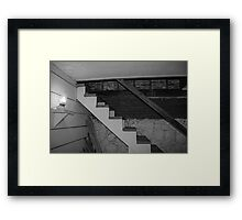 Basement Stairs Framed Print