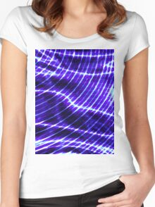 Abstraction 6 Women's Fitted Scoop T-Shirt
