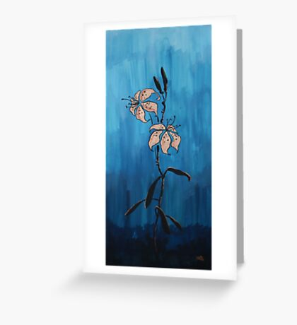 Lilies for a Friend Greeting Card