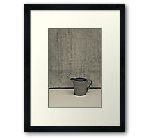 Little Water Jug Framed Print