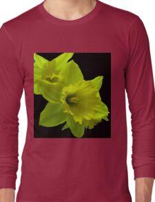 Daffodils Rejoicing Long Sleeve T-Shirt