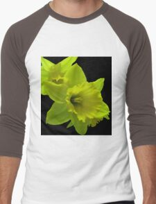 Daffodils Rejoicing Men's Baseball ¾ T-Shirt