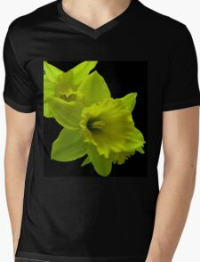 Daffodils Rejoicing Mens V-Neck T-Shirt
