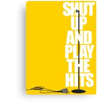 LCD Soundsystem - Shut Up and Play the Hits Canvas Print
