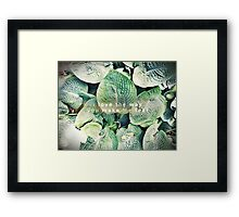 i love the way you make me feel Framed Print