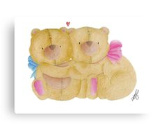 Teddy Bears Metal Print