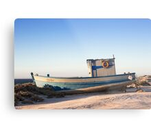 Pero Diaz stranded at Diaz Point, Namibia Metal Print