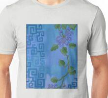Flower in Blue Unisex T-Shirt