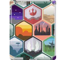 Star Wars - Interlocking Emblem Pattern iPad Case/Skin