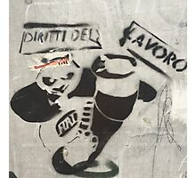 Panda Graffiti Photographic Print