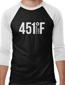 451 A Pleasure To Burn F Men's Baseball ¾ T-Shirt