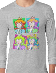 Pop Art Princess Long Sleeve T-Shirt