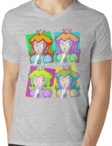 Pop Art Princess Mens V-Neck T-Shirt