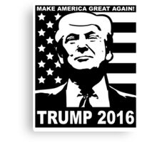 Trump 2016 Canvas Print