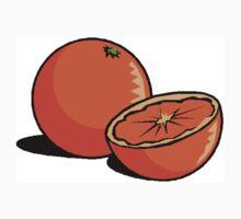 Simple Oranges One Piece - Long Sleeve