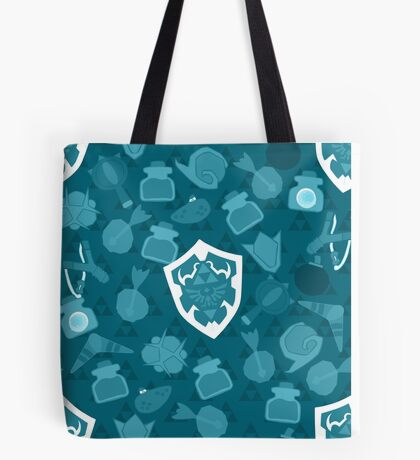 OOT Pattern Blue Tote Bag
