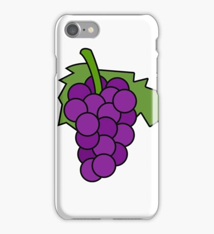 Simple Grapes iPhone Case/Skin