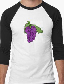 Simple Grapes Men's Baseball ¾ T-Shirt