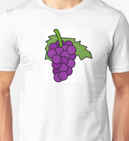 Simple Grapes Unisex T-Shirt